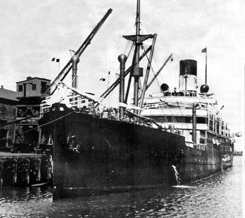 SS Waratah in Cape Town
